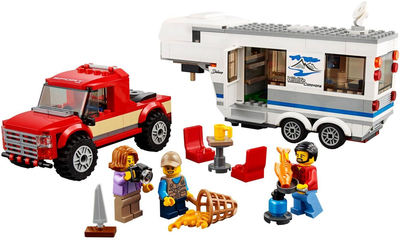 Pickup a karavan