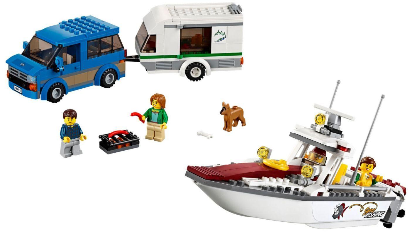 Lego City Dodavka a karavan