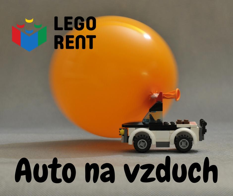 lego auto na vzduch
