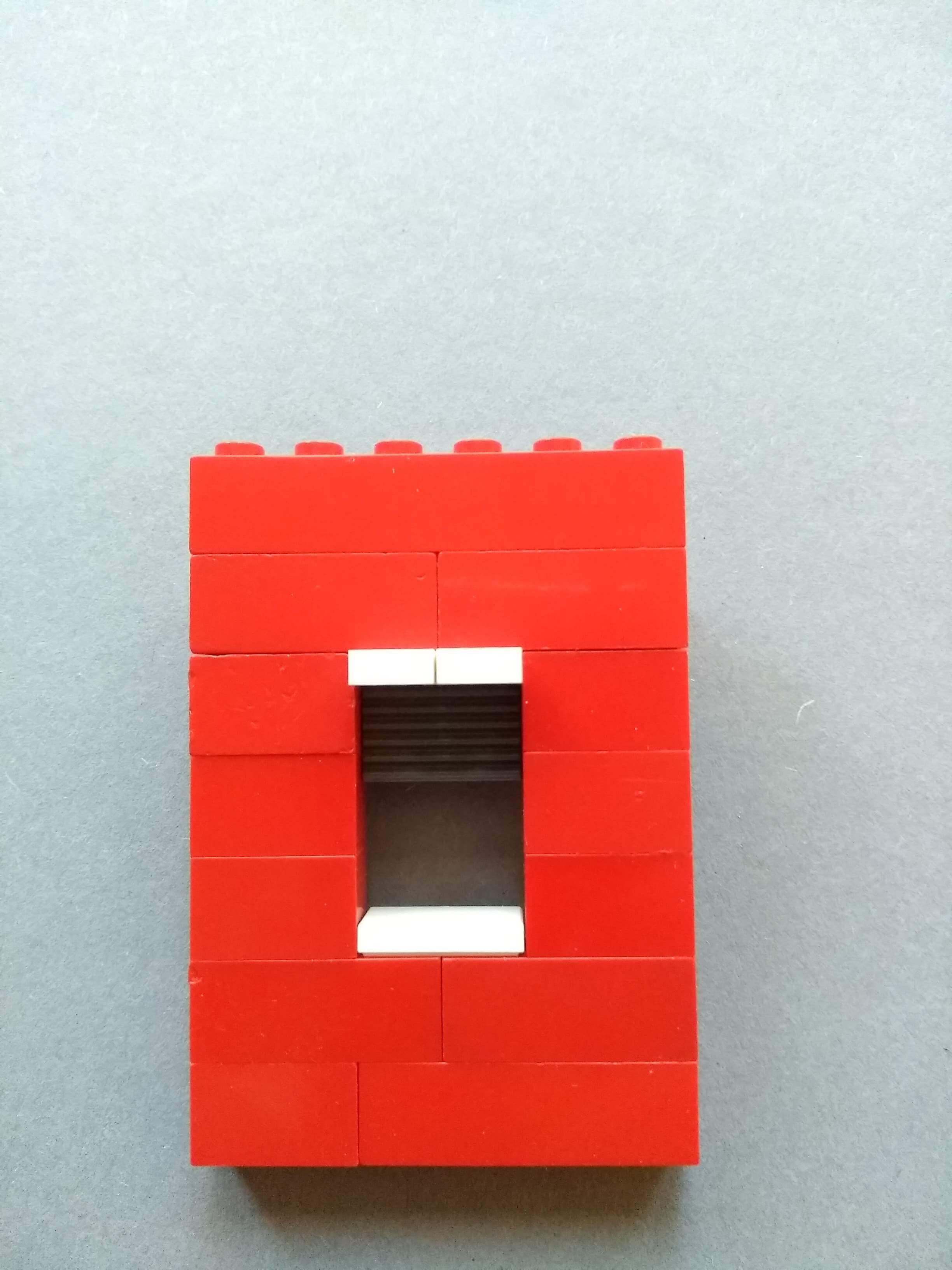 Lego okno s roletou