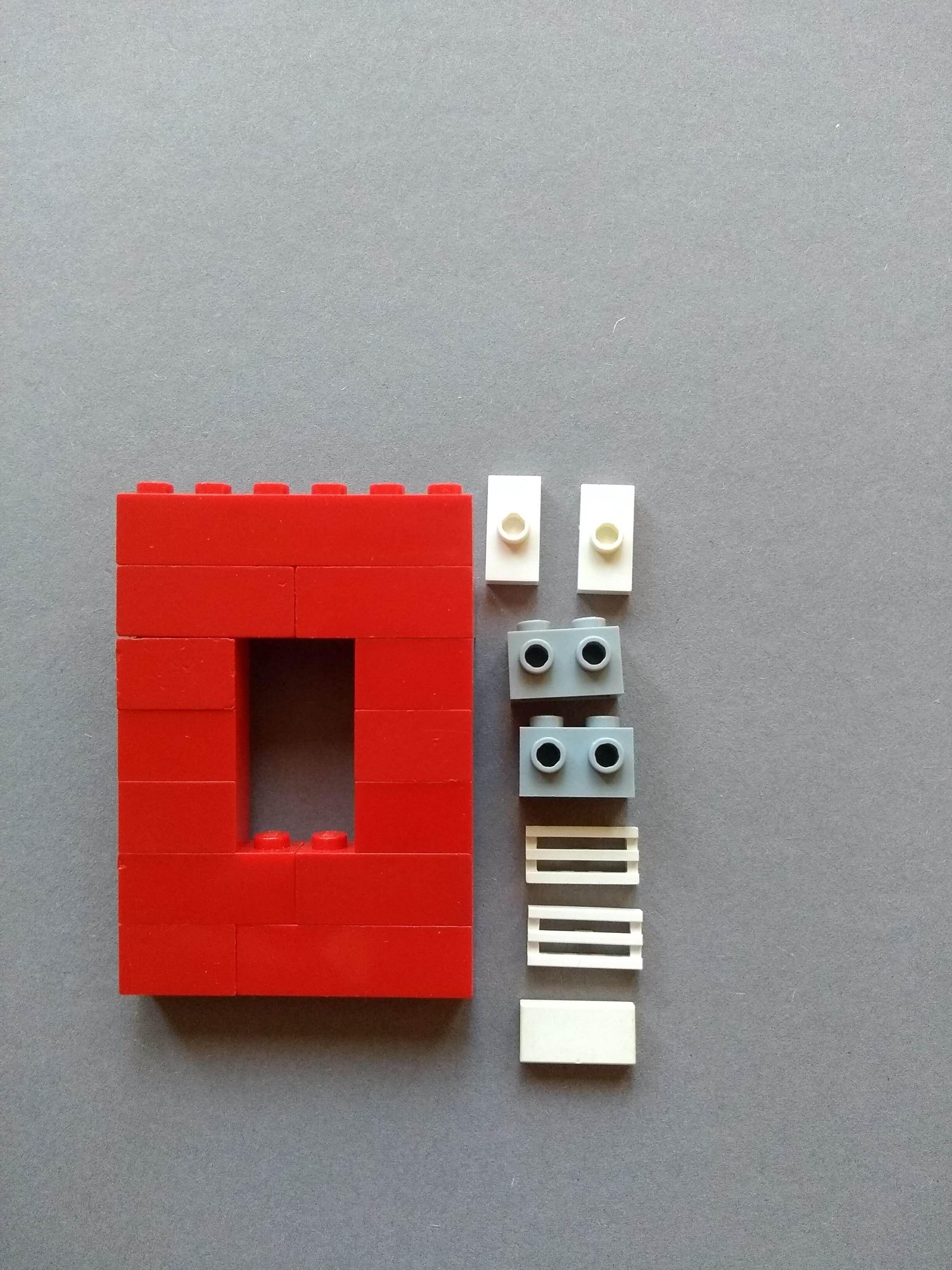 Lego okno so zaluziou