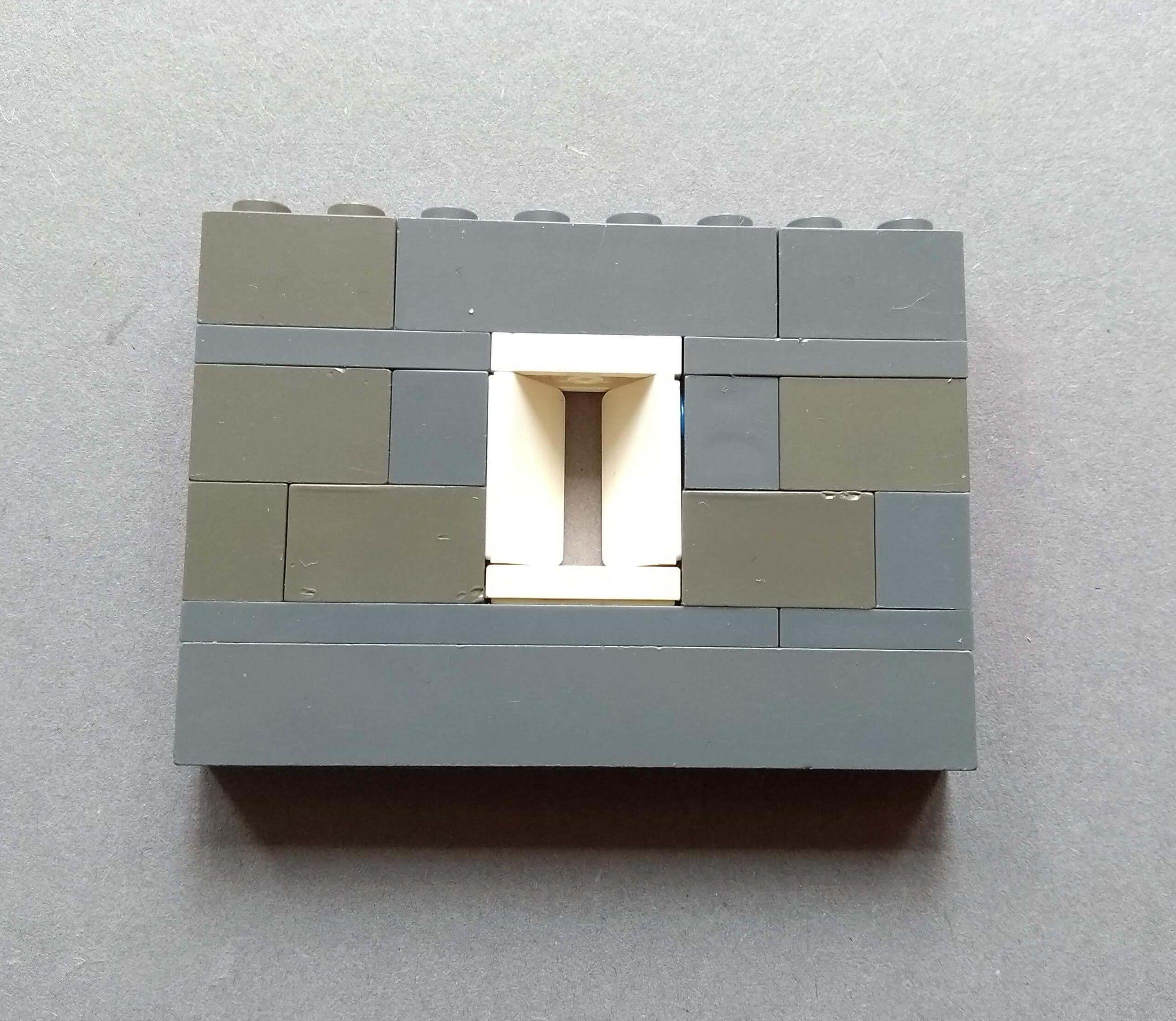 okna na Lego hrady