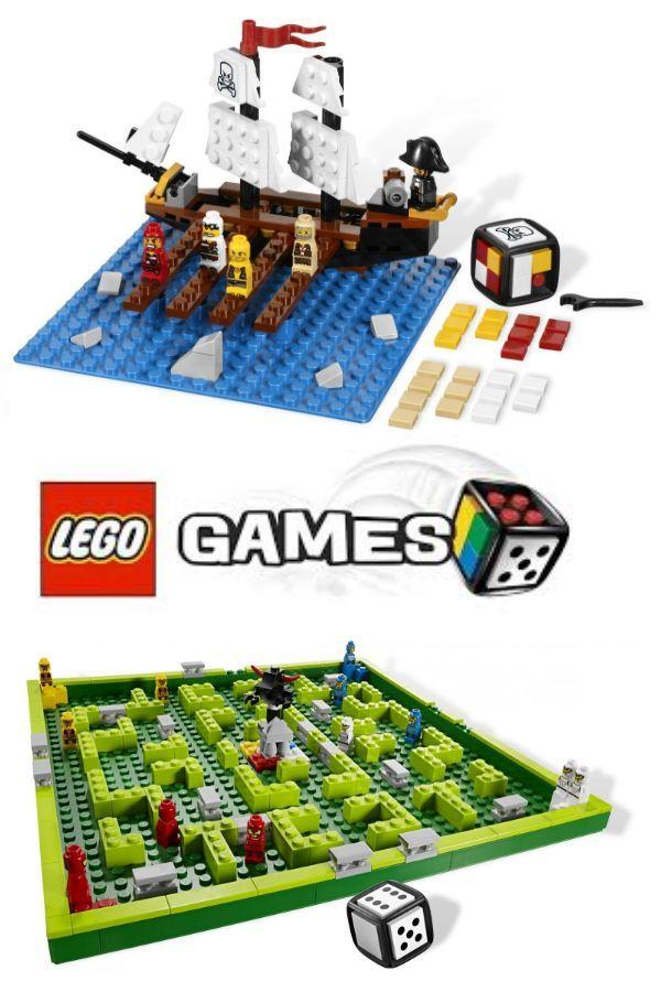 Lego Games spoločenské hry