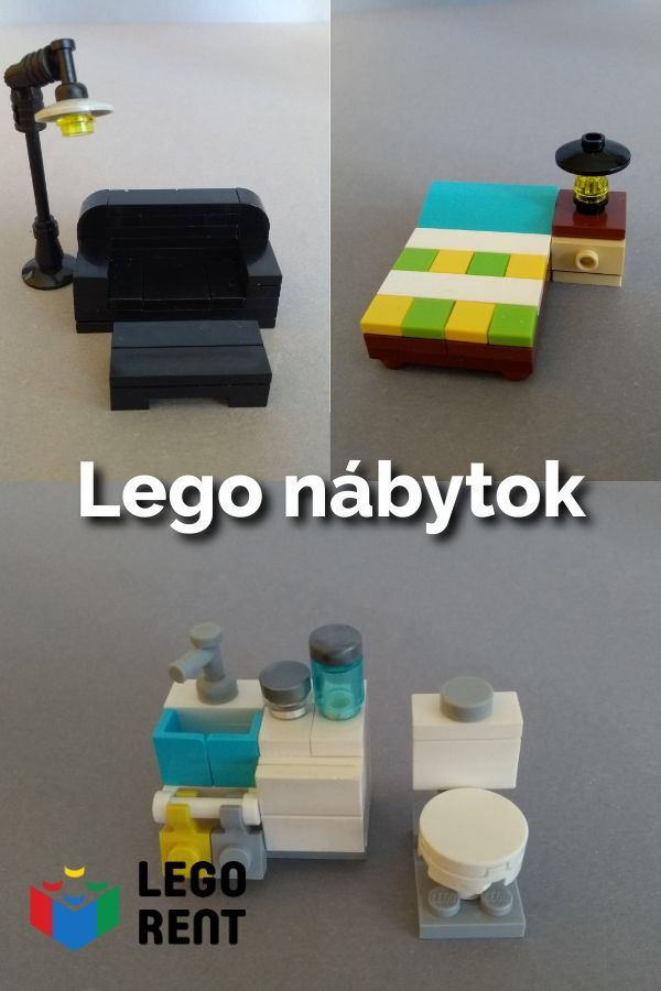 Lego nábytok