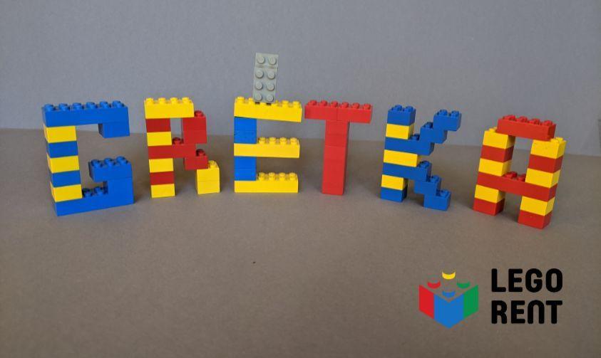 Lego písmená